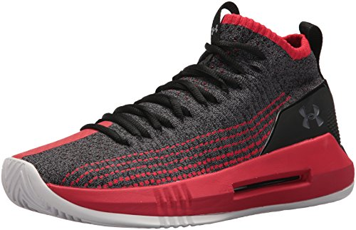 Under Armour Men's Ua Heat Seeker Basketball Shoes, Black (Black 002), 12 UK