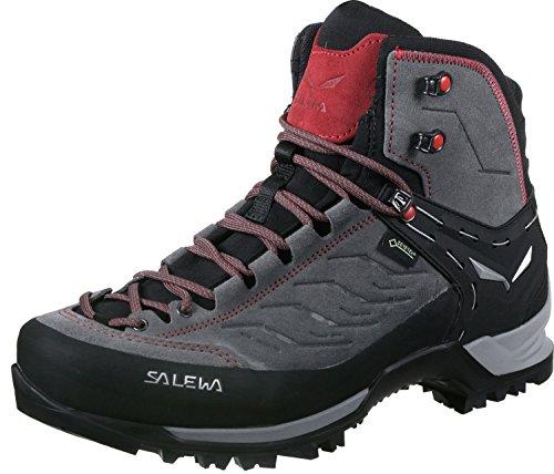 Salewa Ms MTN Trainer Mid GTX Trekking- en wandelschoenen voor heren, Charcoal Papavero, 44 EU