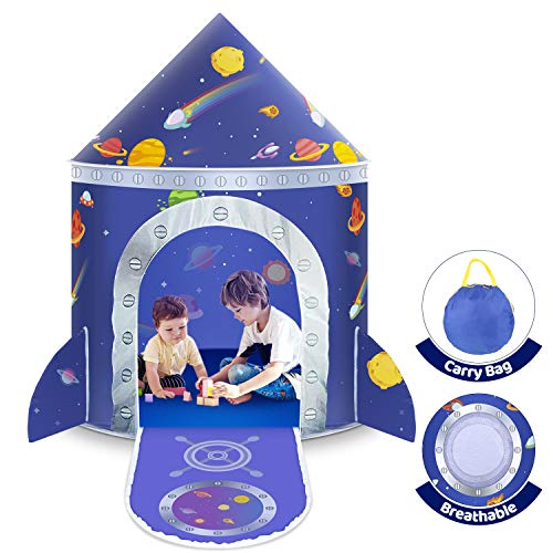 Castle Speeltent voor kinderen, speelhuisje, prinsesslot voor jongens, peuters, binnen en buiten, met opbergtas, cadeau voor Kerstmis en verjaardag