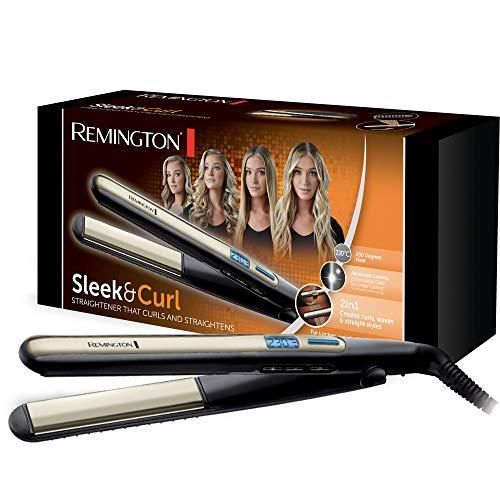 Remington S6500 Stijltang, Keramische Coating, LCD-scherm, 150-230°C, Zwart