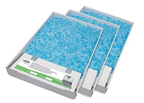 Petsafe PAC19-14264 Premium Blauw Crystals Vervangbak voor Scoopfree Kattendak, 3 Stuks
