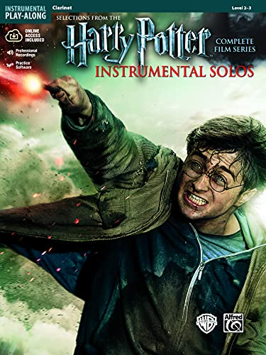 Harry Potter Instrumental Solos - Clarinet: Selections from the Complete Film Series