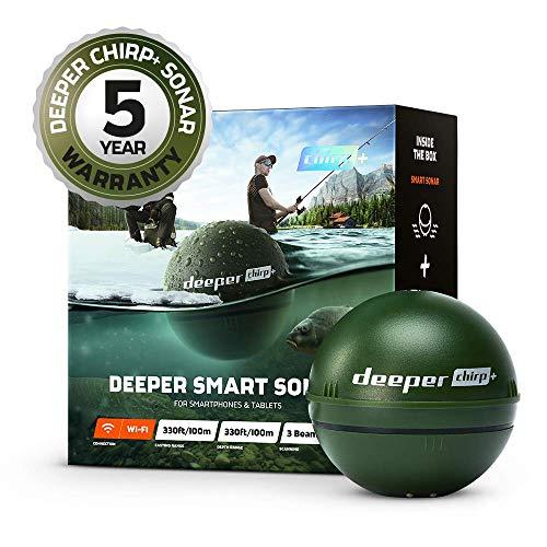 Deeper CHIRP+ Smart Sondeur pakzak, 6 cm, groen (legergroen)