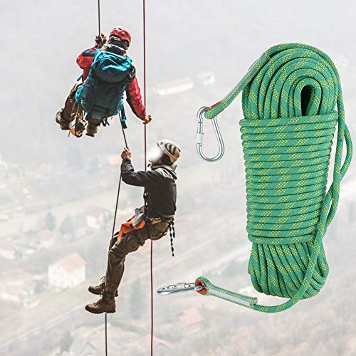 Focket klimtouw, 30 m, klimtouw buiten, duurzaam, voor klimmen op roest / klimmen / enz. (4 kleuren)