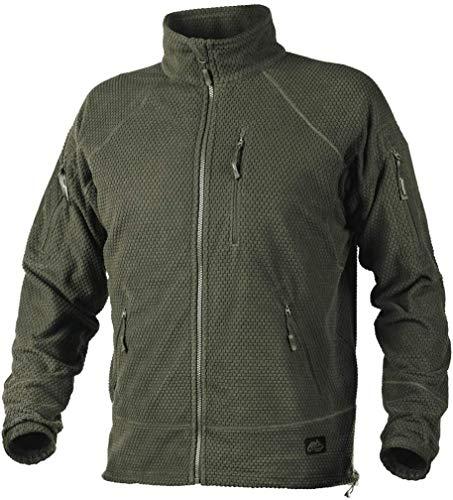 Helikon-Tex Boys Alpha Tactical Grid fleece jas groen, olijfgroen, L / Regular