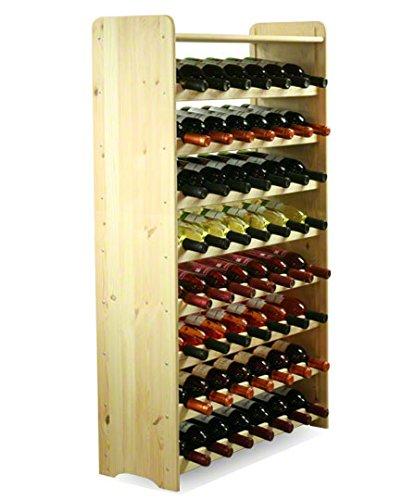 MODO24 Flessenrek wijnkast wijnstaander wijnrek voor 56 flessen NIEUW!