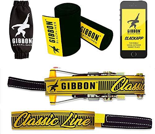 Gibbon Classic Line 15m Slackline with Treewear Set Tight Rope 2020