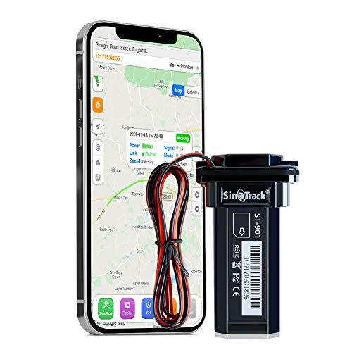 SinoTrack ST-901 Voertuig Auto GPS Tracker, Anti Verloren Alarm Locator GPS Tracker Auto Mini Real-Time Locatie Apparaat, Waterdichte Auto Motorfiets GPS Tracker Apparaat voor Auto Truck Taxi, Ondersteuning Tracking Platform