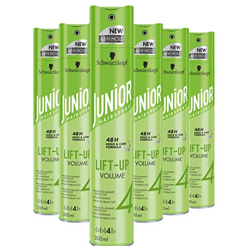 Schwarzkopf Junior Hairspray Lift-Up Volume Haarspray 300ml , 6 stuks