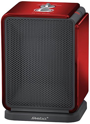 Steba Keramische verwarming KH 2   Eiesparend   inschakelbare oscillatie   zeer stil   2-traps keramisch verwarmingselement 900/1800 Watt   wasbaar stoffilter   Voor ca. 30 m²