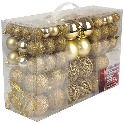 Christmas Gifts kerstballen, plastic