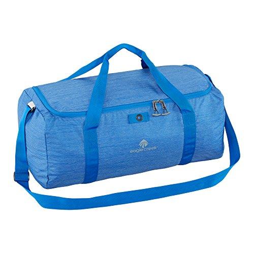 Eagle Creek Ultralichte opvouwbare sporttas opvouwbare duffel handbagage-tas, 56 cm, 49 L, zwart, Blue Sea, 41L, sporttas