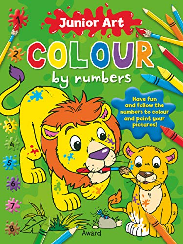 Colour by Numbers - Pirate: Featuring a Picture of the Finished Page for Extra Guidance