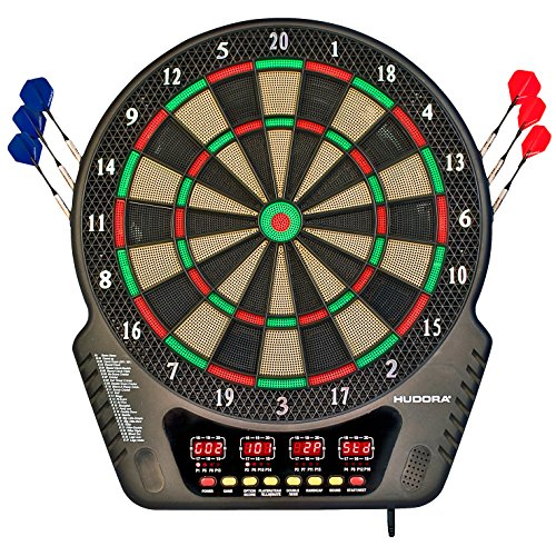 Hudora 77034 LED 04 Elektronisch dartbord