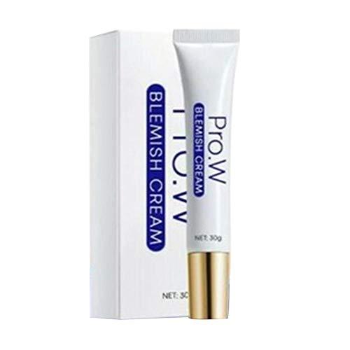 1 STKS Pro.W Oneffenheden Crème, 30g Huid Whitening Hydraterende Crème, Acne Remover Voor Donkere Vlek Huidverzorging, Vlekken Verwijdering Behandeling Puistje Zalf