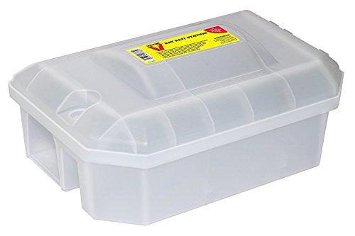 Victor Afsluitbaar lokstation met rattenval, gesloten lokaasbox voor veilig gebruik van rattengif en inzetbaar met rattenval, ter bescherming van je kinderen en huisdieren. M930U