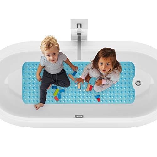 riijk Badmat, antislip, XXL, 100 x 40 cm, antislipmat, badkuipmat, kinderen, badmat, antislip, badkuip