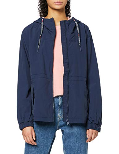 Tommy Jeans Essential Windbreaker damesjas met lange mouwen, blauw (Blue CBK), XXS