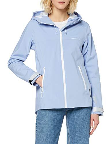 Superdry Dames Ls Essentials Harpa Waterproof Jacket Jacket, blauw (Blue Heron 6st), XXS